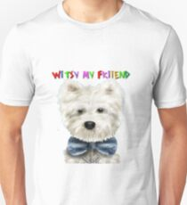 Funny Puppy And Funny Pet Dog Costumes Unisex T-Shirt