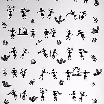 Warli Pattern by ranjaniart