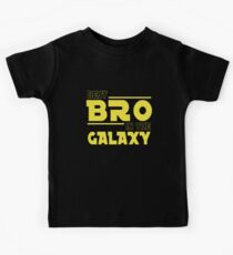 The Best Bro In The Galaxy Kids Tee