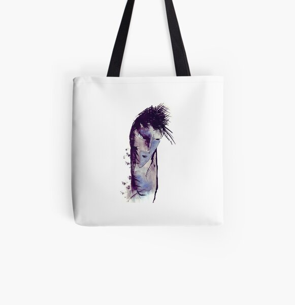 Ink drawing All Over Print Tote Bag