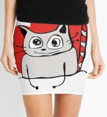 Cat & Love Mini Skirt