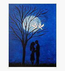 Moonlight kisses Photographic Print