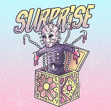 Pinhead - Surprise! by valexn