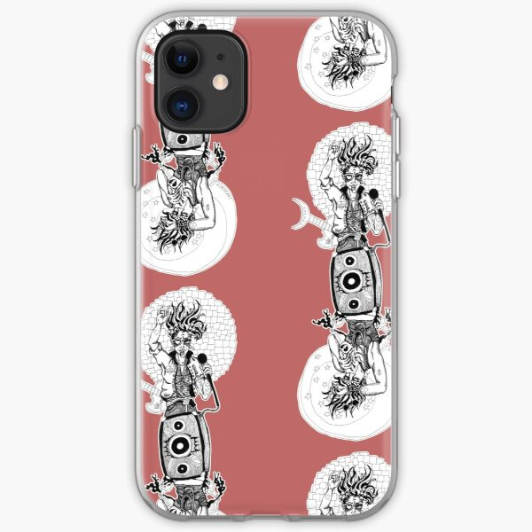 The Empress Twisted Tarot in Ink iPhone Soft Case
