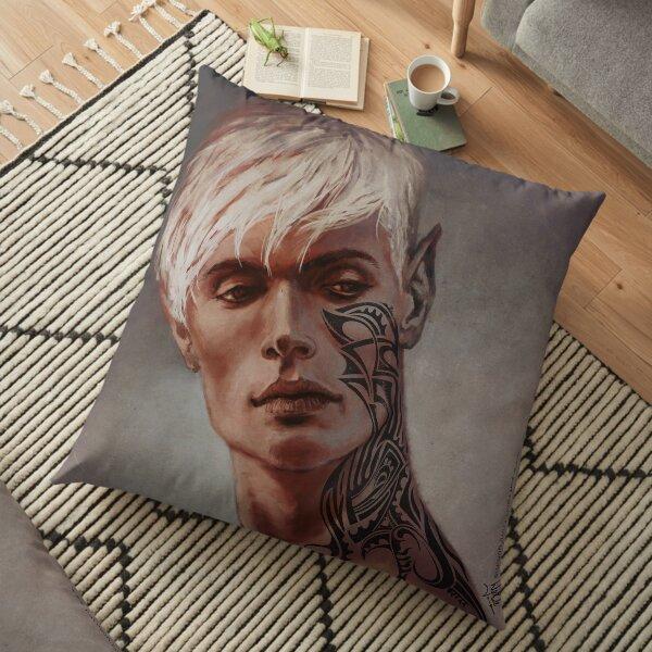 Rowan Whitethorn Throne of Glass Floor Pillow