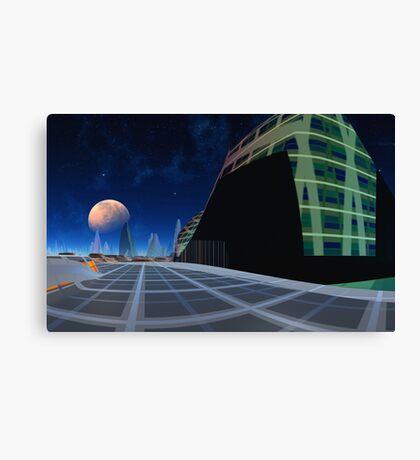 SolarisTraveller - Star Deck Canvas Print