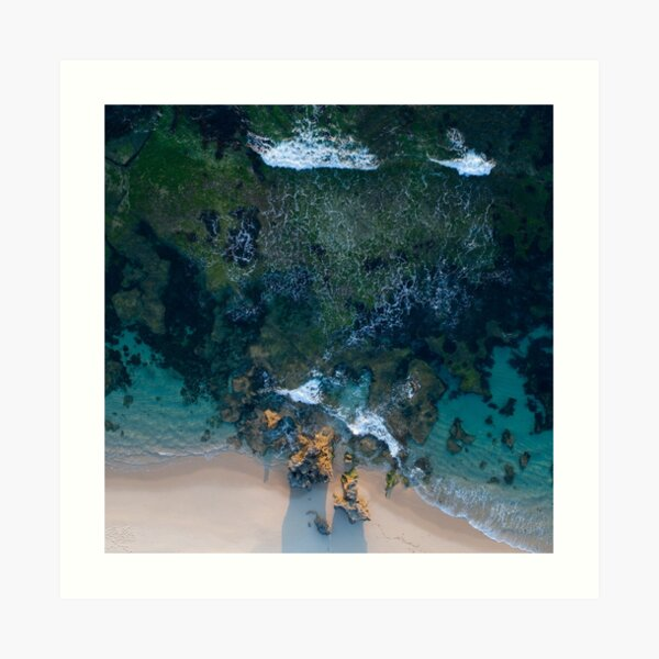Mornington Peninsula Coastline Art Print