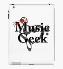 Music Geek Confirmed iPad Case/Skin
