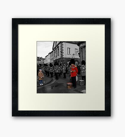 Soldier, soldier Framed Print