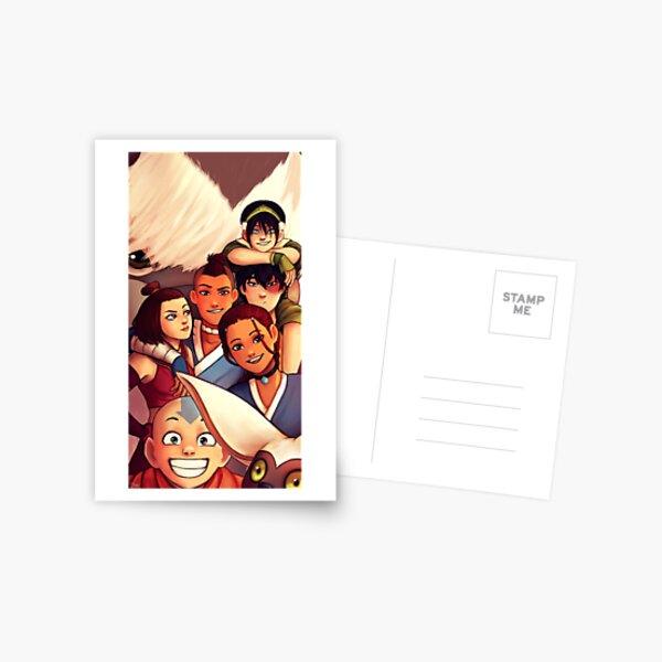 Team Avatar Postcard