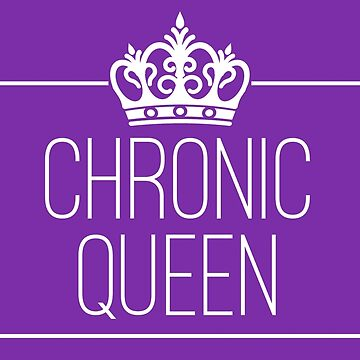 Chronic Queen - stickers and other items in purple by chroniccoral