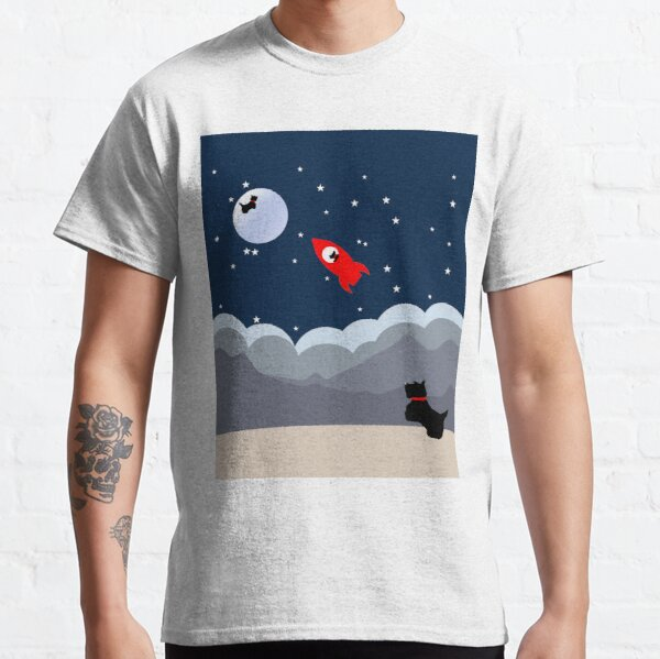 Scottie Dog 'Moon and Back'  Classic T-Shirt
