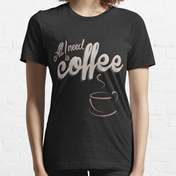 Kaffee Espresso Cappuccino Latte Macciato Shirt Essential T-Shirt