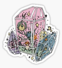 Pastel Crystal Witch Herbalism Sticker