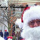 Santa Wishing a Merry Christmas by debbiedoda