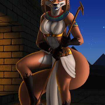 Egyptian vixen by BlakeFox