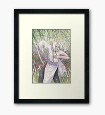 Kimimaro (Naruto) Framed Print
