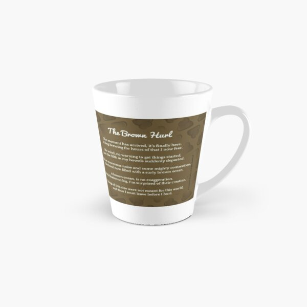 WARNING! Pure Pooetry Currently Brewing Tall Mug