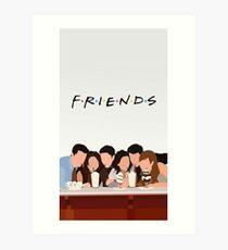 Freunde zeigen Kunstdruck