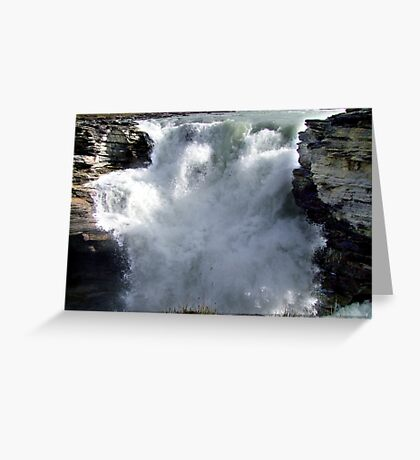 Athabasca Falls Greeting Card