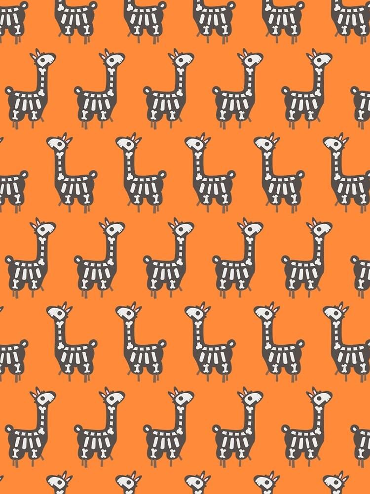 Halloween llama by melomania