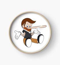 Pinocchio Style! Clock
