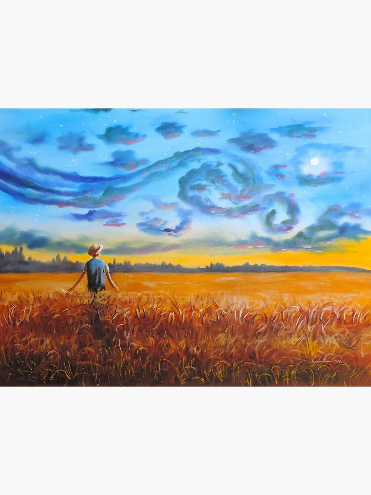 Van Gogh dreams of the starry night Gordon Bruce by gordonbruce