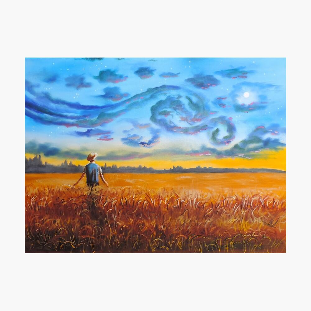 Van Gogh dreams of the starry night Gordon Bruce Photographic Print