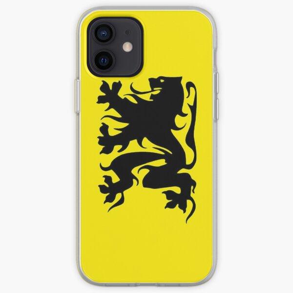 Vlaamse Leeuw (Versie 2) iPhone Soft Case