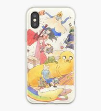 The Adventure Will Never End (Adventure Time) iPhone Case