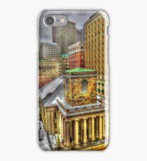 King's Chapel, Boston MA iPhone Case/Skin