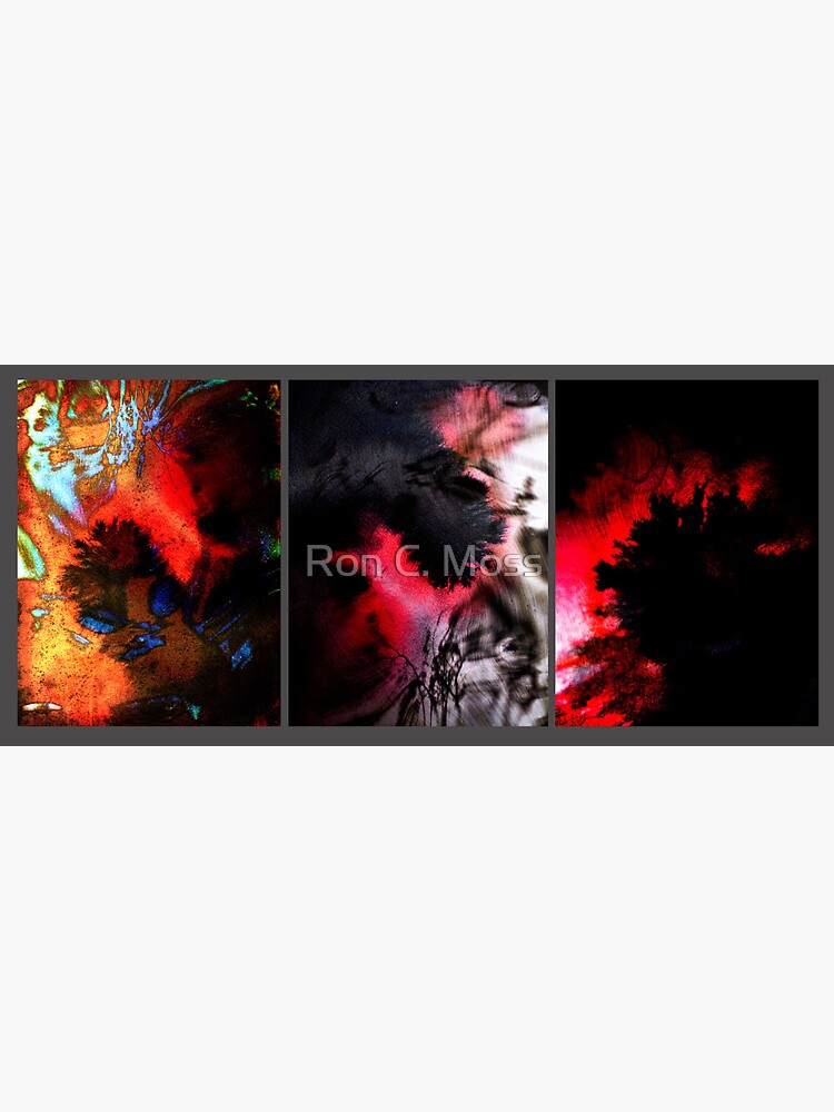 Y E S in Triptych by ronmoss