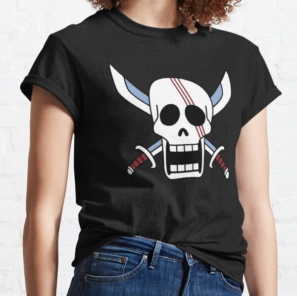 RED HAIR PIRATES / SHANKS SYMBOL FLAG ONE PIECE Classic T-Shirt