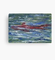 Red Shark Number Two Canvas Print