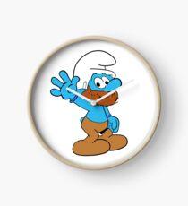 Smurfs Style! Clock