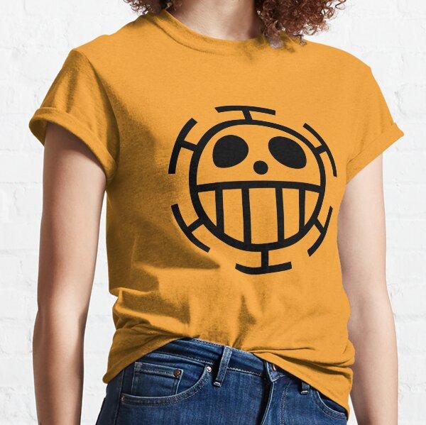 HEART PIRATES (TRAFALGAR D. LAW) SYMBOL FLAG Classic T-Shirt
