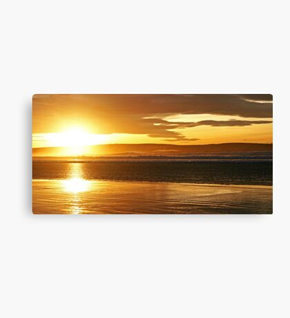 Dunnet Beach Sunset Canvas Print