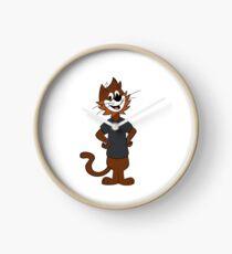 Top Cat Style! Clock