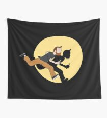 Tintin Style! Wall Tapestry