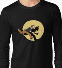 Tintin Style! Long Sleeve T-Shirt