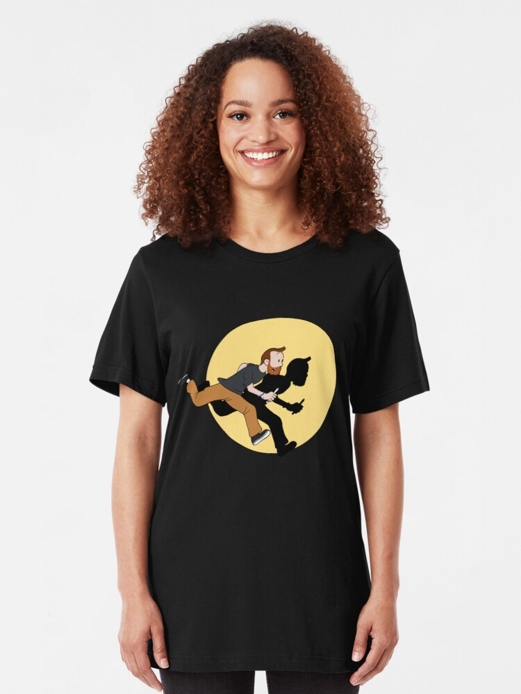 Alternate view of Tintin Style! Slim Fit T-Shirt