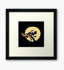Tintin Style! Framed Print