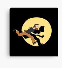 Tintin Style! Canvas Print