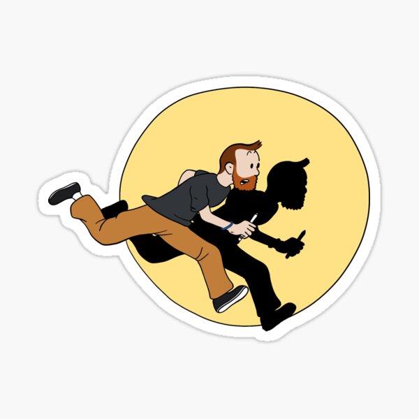 Tintin Style! Sticker