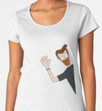 Wheres Wally Style! Premium Scoop T-Shirt