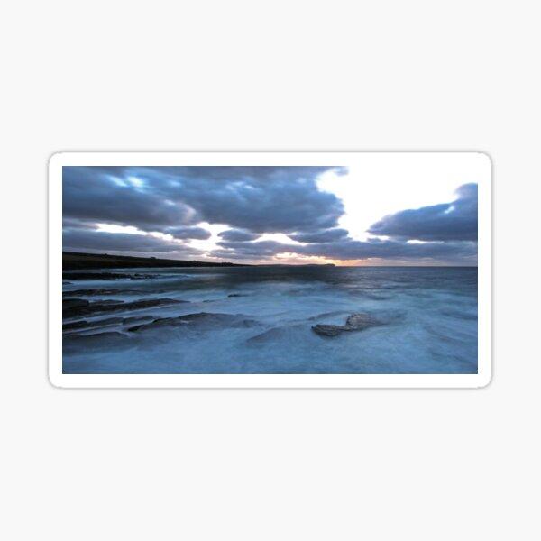 Pentland Firth Evening Sticker