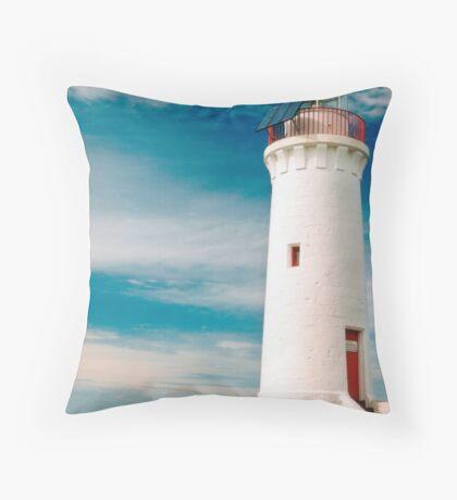 Griffith Island Lighthouse Throw Pillow