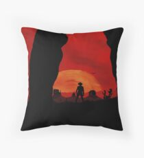 """""""Redemption Is Dead"""" Throw Pillow"""
