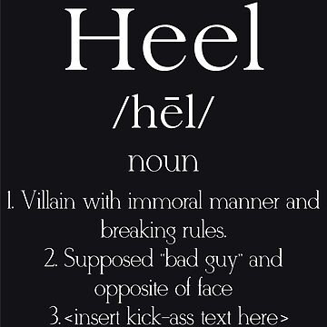 Heel definition by rolito86