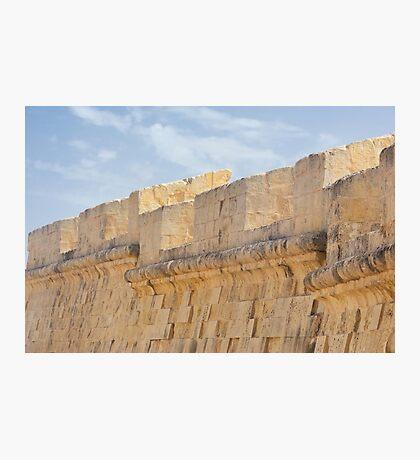 Birgu City Walls Photographic Print